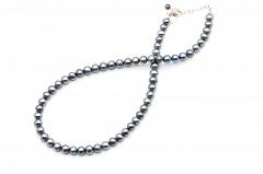 Lavandas pērļu kaklarota