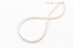 Baltās rīsu formas pērles