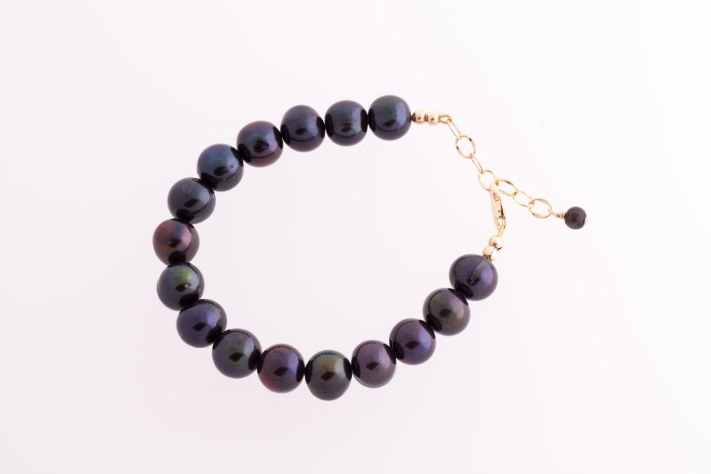 Šokolādes krāsas pērles
