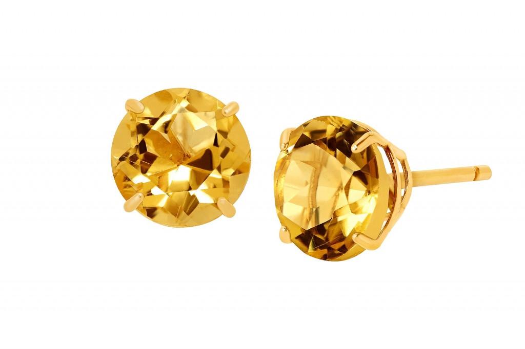 Topāza zelta nagliņas