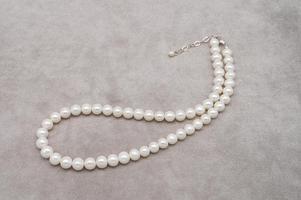 Baltās apaļās pērles