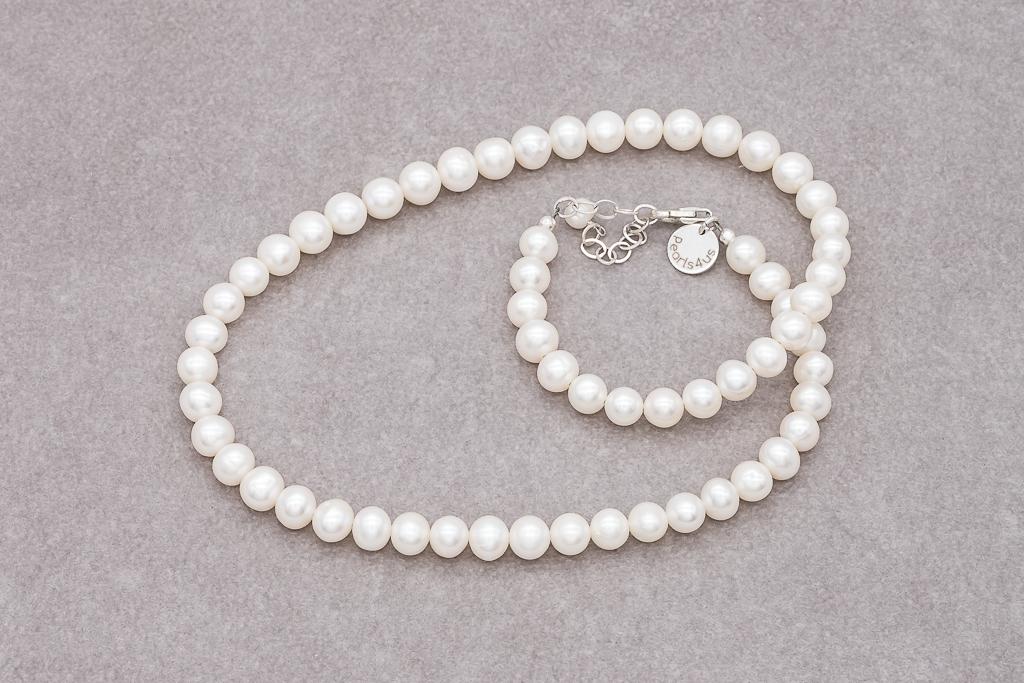 Pērles ar sudrabu