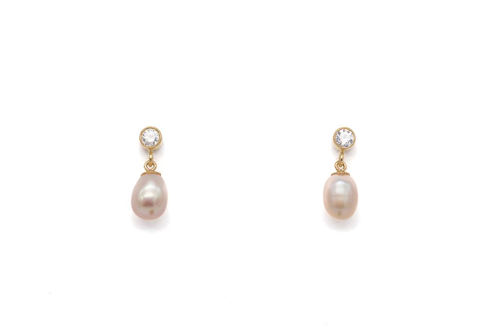 Rozes apmalītes pērles