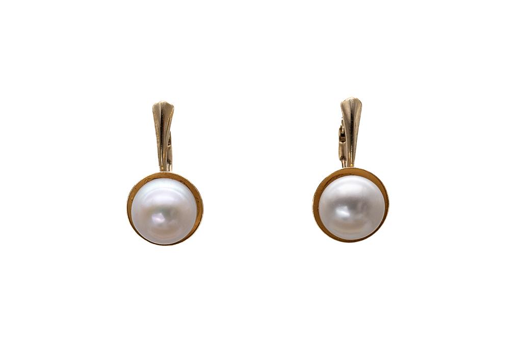 Tumšās klasiskās pērles 9.5mm