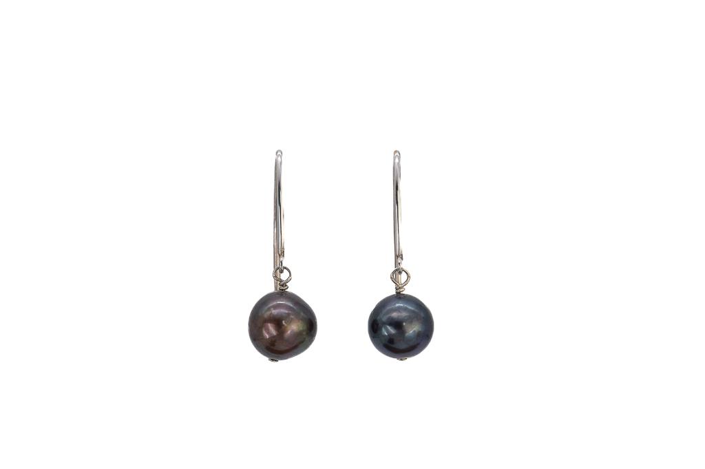 Auskari, pērles 9.5-10mm