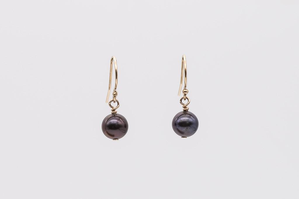 Auskari, pērles 7-7.5mm