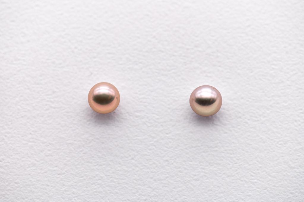 Pērļu nagliņas, sudrabs