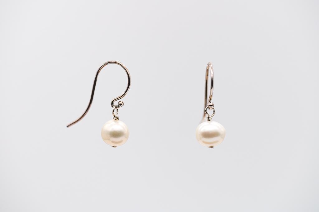 Upes pērles- auskari