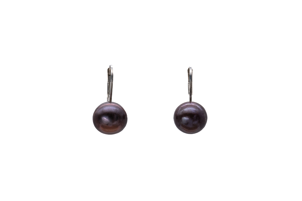 7.5mm pērļu auskari