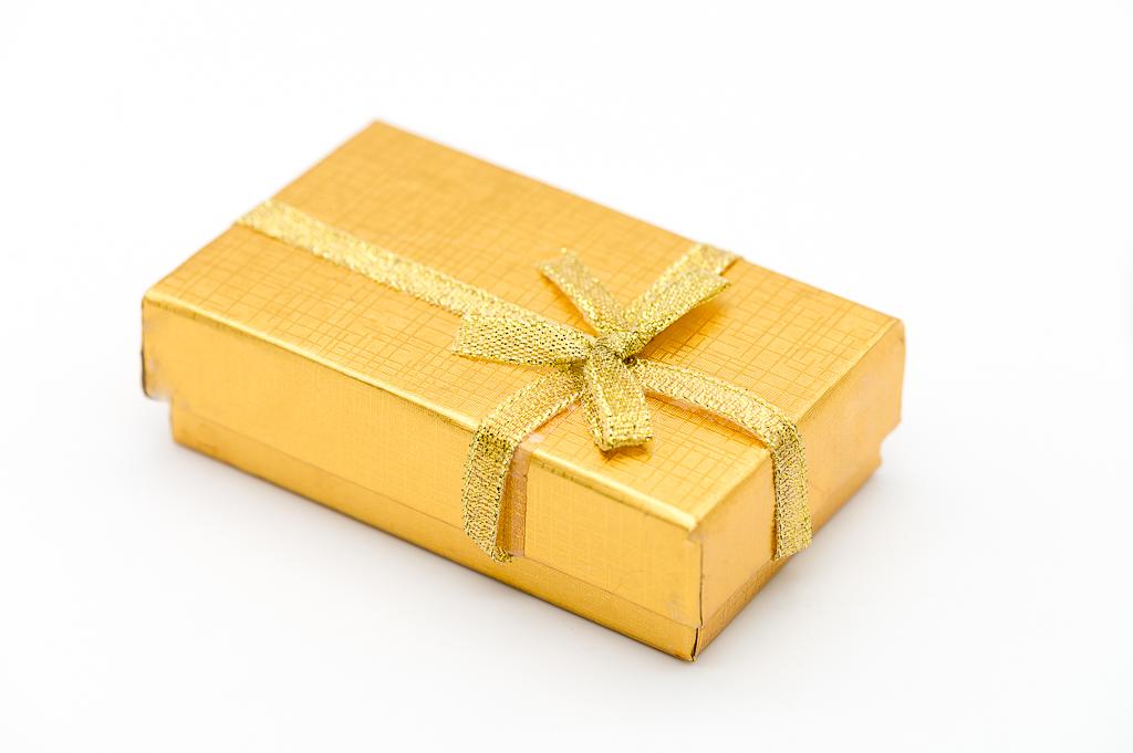Dāvanu kastīte rotaslietām