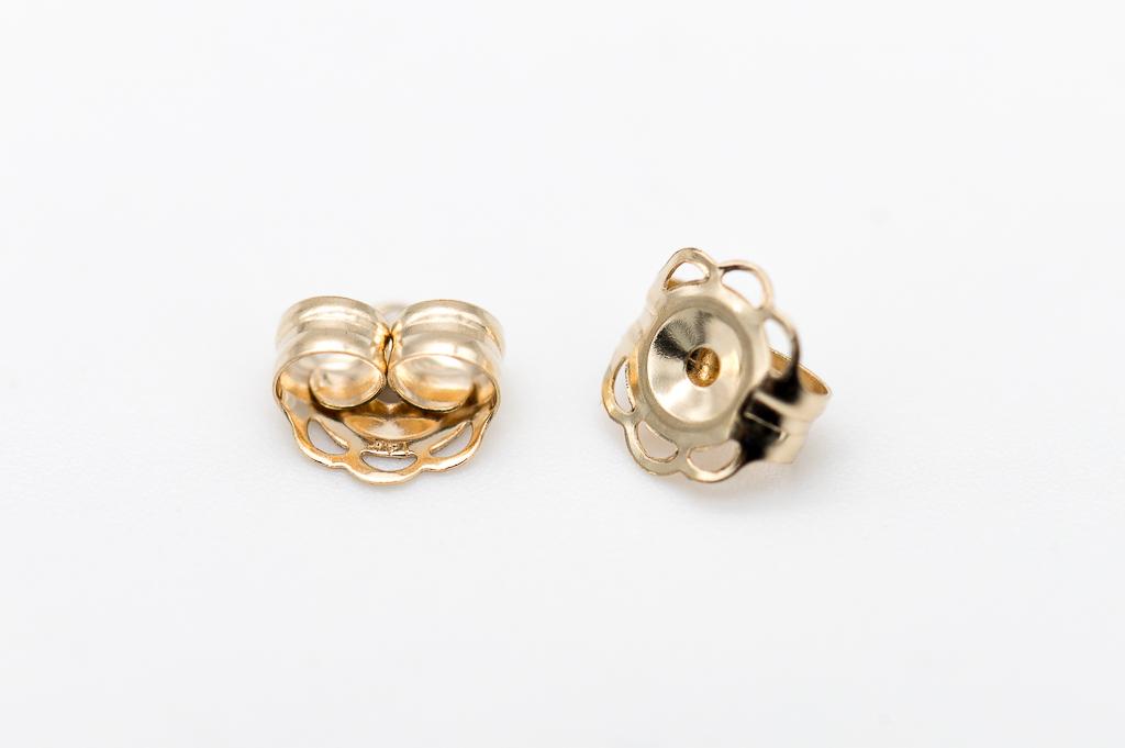 Zelta taurenīši auskariem