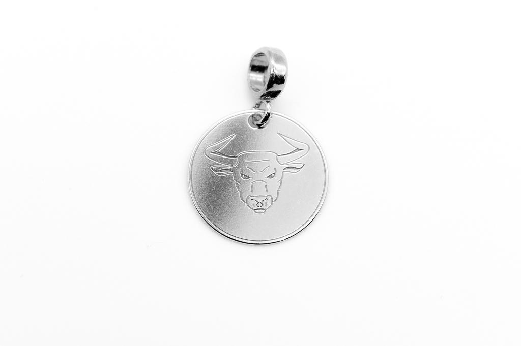 Vērša zodiaka zīmes kulons
