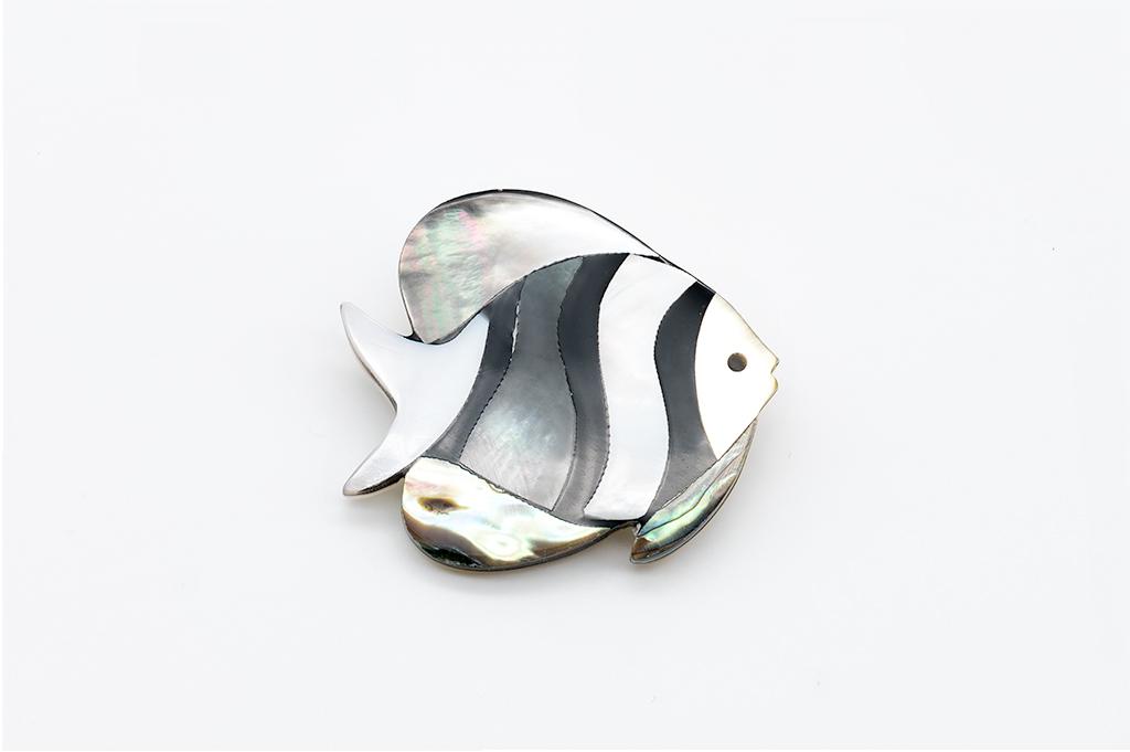 Abalone ZIVTIŅA -gliemežvāka piespraude