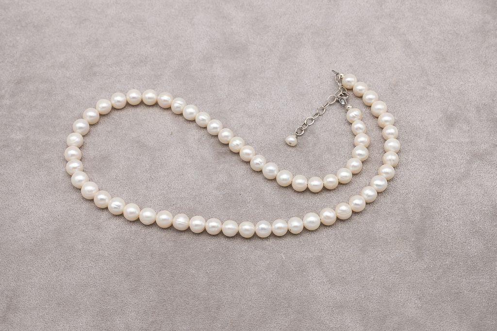 Dāvana sievietei - AAA pērles ar sudrabu