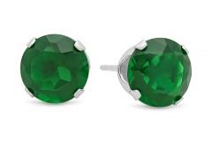 Smaragda (laboratorijas) auskari