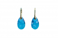 Swarovski Purple Pear