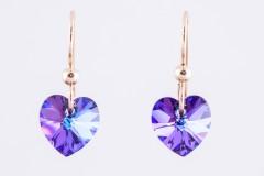 Mazās violetās sirsniņas
