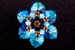 Bermuda zilais gredzens