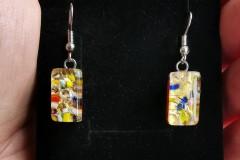 Murano stikla auskari