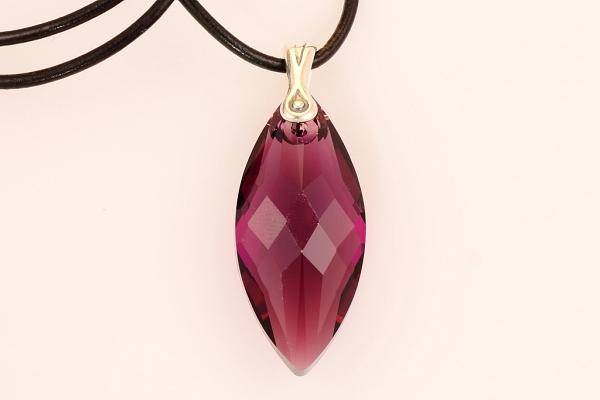 Violetais Swarovski kristāls