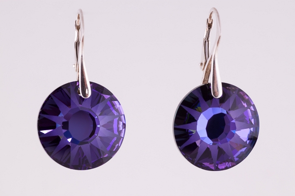 Swarovski Purple Sun