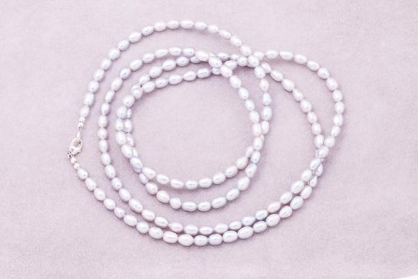 Oжерелье рисового жемчуга