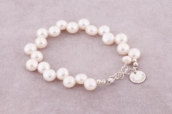 Mabe pērļu rokassprādze