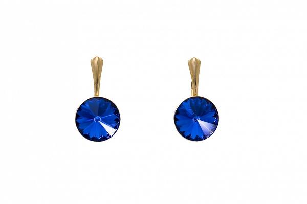 Sapphire blue Swarovski