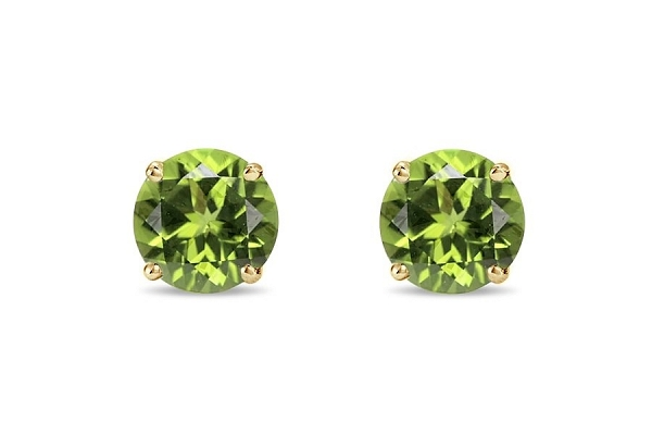 Olivine Stud Earrings