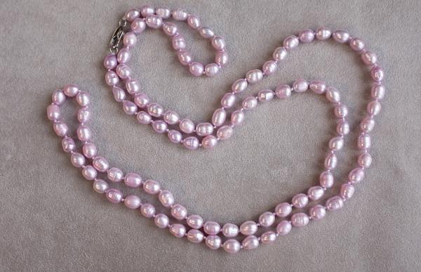Oжерелье пресноводного жемчуга