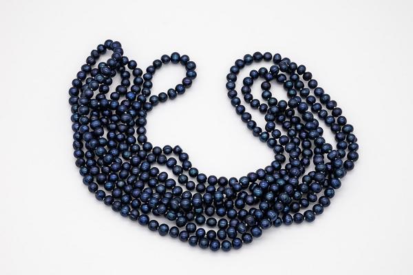 Zilās pērles