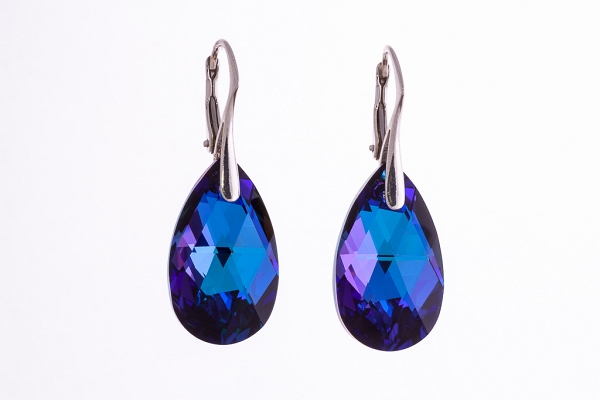 Swarovski Purple earrings