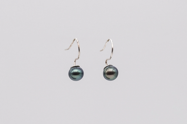 dark grey colour pearls