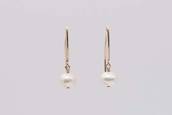 Pērles ar GF zelta āķiem