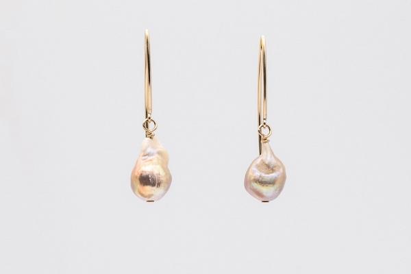 Baroka pērļu auskari