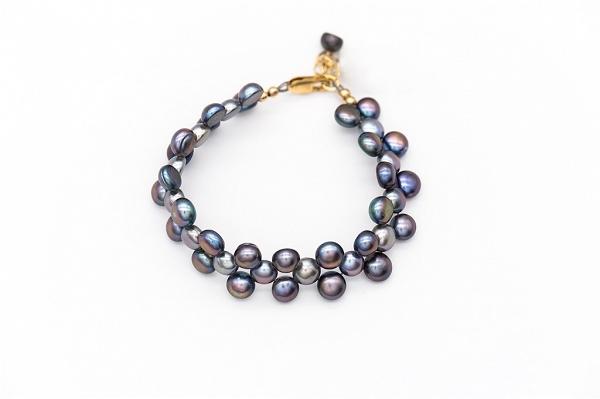 Mabe pearls bracelet