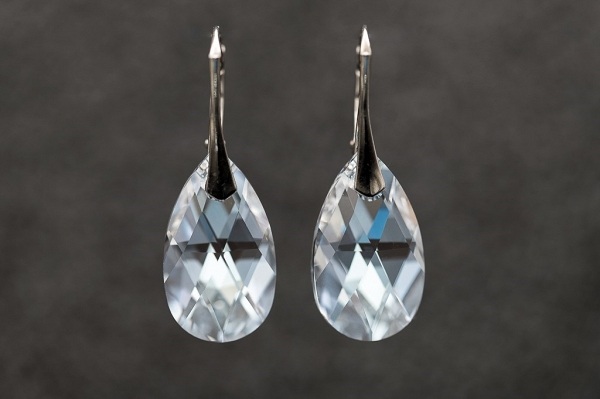 Swarovski Chrystal  Pear cut