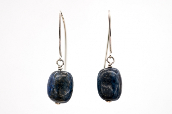 Lapis Lazuri long earrings