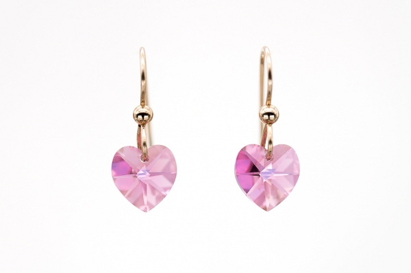 Swarovski Pink Hearts