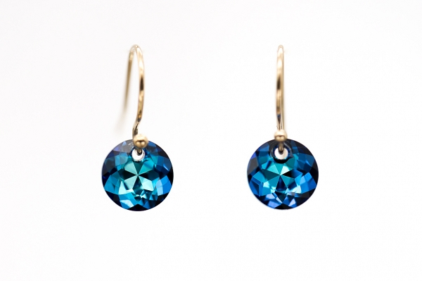 Swarovski Small Blue Discs