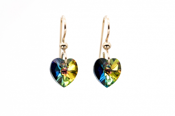 Swarovski Vitrail Medium Hearts
