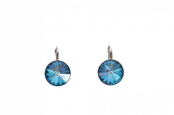 Swarovski Turquoise Silver earrings
