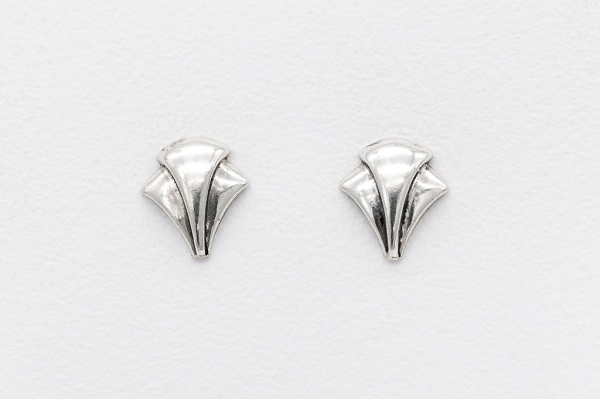 Art-deco motive earrings