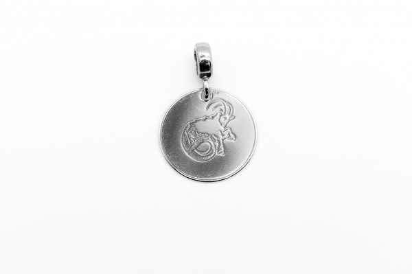 Capricorn Zodiac Sign Pendant