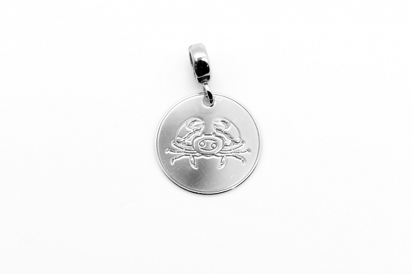 Cancer Zodiac Sign Pendant
