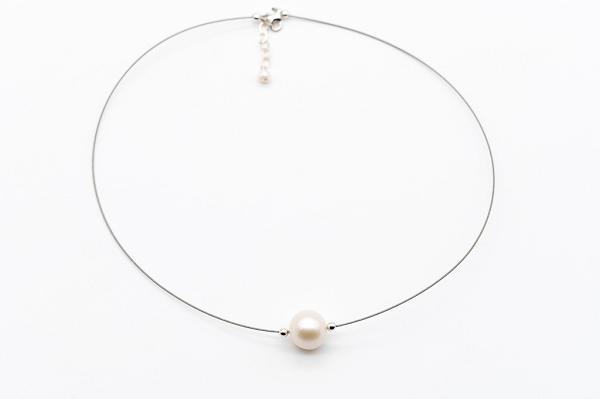 Lielā pērle ar sudrabu
