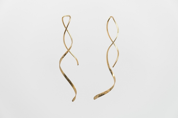 14/20 Yellow Gold-Filled Swirl Earrings14/20 Yellow Gold-Filled Swirl Earrings